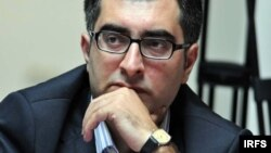 Anar Mammadli is serving a 5 1/2 year jail sentence on charges his supporters say were politically motivated.