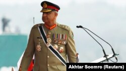 Pakistani Army Chief of Staff General Qamar Javed Bajwa (file photo).