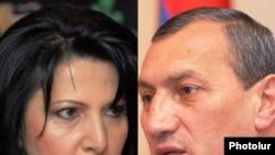 Сильва Амбарцумян (слева) и Сурик Хачатрян