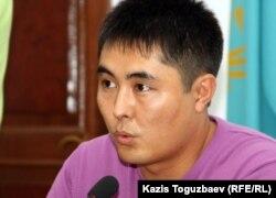 Stan.kz бейнепорталының продюсері Дәнеш Байболатов. Алматы, 20 қыркүйек 2011 жыл.