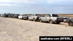 На казахско-туркменской границе