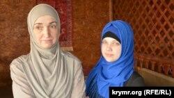 Наджие Алиева с дочерью