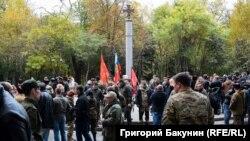 На відкритті пам'ятника «героям Донбасу» у Ростові-на-Дону