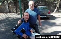 Васіль Парфянкоў з бацькам