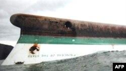 کشتی «شاهزاده ستارگان» ۷۴۹ مسافر و خدمه حمل می کرد. (عکس:AFP)