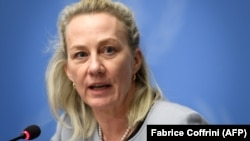 Alice Wells, the top U.S. State Department official for South Asia, called on India to ease restrictions in Kashmir.