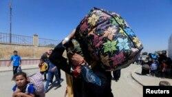 Izbeglice napuštaju Mosul