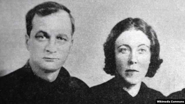Андрей Платонов с женой