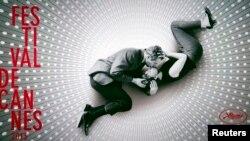 تصویری از پوستر جشنواره کن ۲۰۱۳ با عکسی از پل نیومن و همسرش جوآن وود وارد در فیلم «نوع تازهای از عشق»
