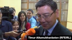 Министр цифрового развития, оборонной и аэрокосмической промышленности Казахстана Аскар Жумагалиев.