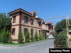 Дом на улице Саломатина в Ташкенте; фото: Ц-1.