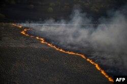 Минула пожежа в зоні відчуження. 28 квітня 2015 року