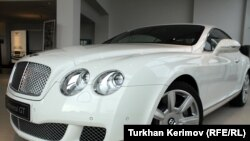 Azerbaijan -- Bentley showroom in Baku, 06Jan2010