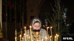 Керәшеннәр бәйрәм гыйбәдәтенә Казанның Тихвин чиркәвенә җыела