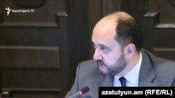 Глава МОНКС Араик Арутюнян (архив)