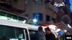 Pamje nga transmetimi në televizionin Al-Arabiya