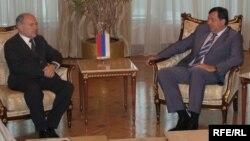Visoki predstavnik Valentin Inzko i predsjednik RS Milorad Dodik tokom jednog od susreta u Banjaluci