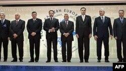 Lideri zemalja Balkana na jednom od ohridskih samita o jugoistoku Evrope.