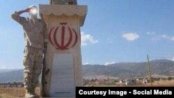 عکس از حساب توییتری منتسب به سپاه پاسداران ایران