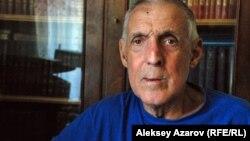 1968 жылы 19 маусымда болған апаттың куәгері Юрий Добрушкин. Алматы, 2 шілде 2013 жыл.