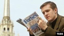 О подробностях жизни некоторых членов списка «Единой России» избиратели могут прочитать в журнале «Форбс»