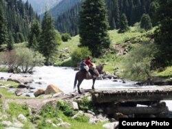 Кыргызстан. Фото из личного архива Виталия Серба