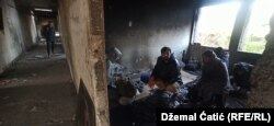Many migrants in Bosnia have been living rough rather than in reception camps. (file photo)