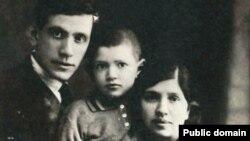МойшаКульбак зжонкаю ісынам.1930год