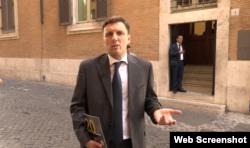 Дмитро Воловніков, радник посольства України в Італії