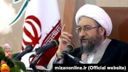 The head of Iran's Judiciary, Sadegh Amoli Larijani