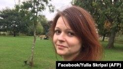 Юлия Скрипаль, дочь бывшего агента ГРУ России Сергея Скрипаля. Фото из социальной сети Facebook.