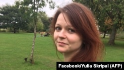 Yulia Skripal and her father, Sergei, were found incapacitated on a park bench in the English city of Salisbury on March 4.