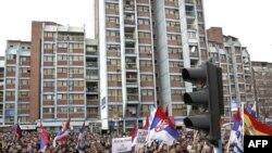 17 феврал куни Косово албанлари мустақилликнинг биринчи йилини байрам қилган бўлса¸ Митровицадаги серблар¸ Косовонинг қайта Сербия таркибига кириши талабида намойиш ўтказдилар.