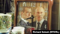 Medvedev-Putin. Suvenir saat