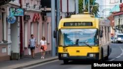 Тралейбус у Горадні ©Shutterstock