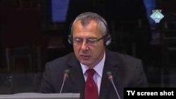 Tomasz Blaszczyk u sudnici Tribunala, 20. avgust 2010