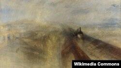 Уільям Тэрнэр, «Дождж, пара і хуткасьць» (1844)