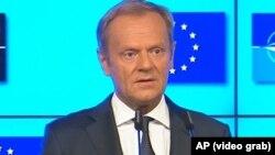 Дональд Туск, Еуропа кеңесінің президенті.