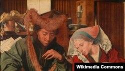 Марынус ван Рэймэрсвале, «Мяняла іягоная жонка» (1539)