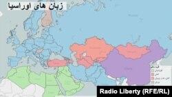 روی نقشه کلیک کنید و اطلاعات مربوط به کشورها را ببینید