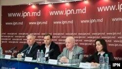 Viorel Cibotaru, Andrei Năstase, Oazu Nantoi, Maia Sandu, Chișinău, 28.02.2017