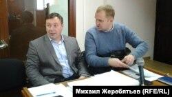 Адвокаты Юрий Михайлов (слева) и Александр Иванов