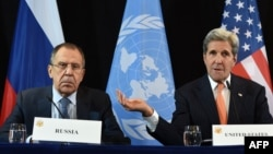 Although U.S. Secretary of State John Kerry (right) and his Russian counterpart, Sergei Lavrov (left), reached a deal this month to renew a cease-fire in Syria and work together against terrorist groups, such a partnership now seems highly unlikely in light of recent events.