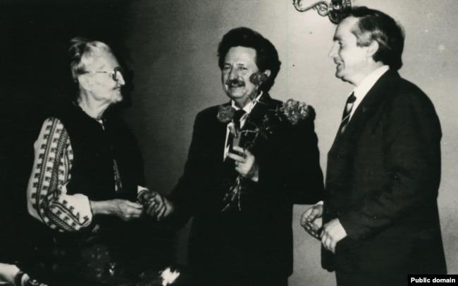 Оксана Мешко, Михайло Горинь та Василь Овсієнко, приблизно 1990 рік