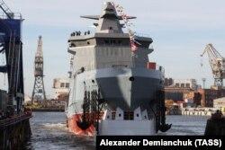 Një anije e ndërtuar nga United Shipbuilding.