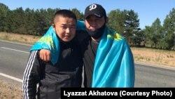 Кастер Мусаханулы жана Мурагер Алимулы. Чыгыш Казакстан облусу, 22-июнь 2020-жыл