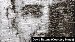Портрет Барака Обамы. David Datuna