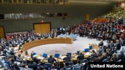 SHBA - Këshilli i Sigurimit gjatë votimit të një rezolute për Aleppo-n, 5 dhjetor 2016