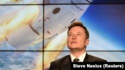 Илон Маск, архивное фото
