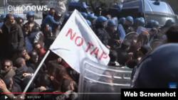 Apuliyada TAP kəmərinə etiraz aksiyası